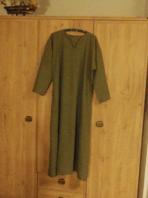 Tutorial: Suknia spodnia, wczesnośredniowieczna, wikińska – część III