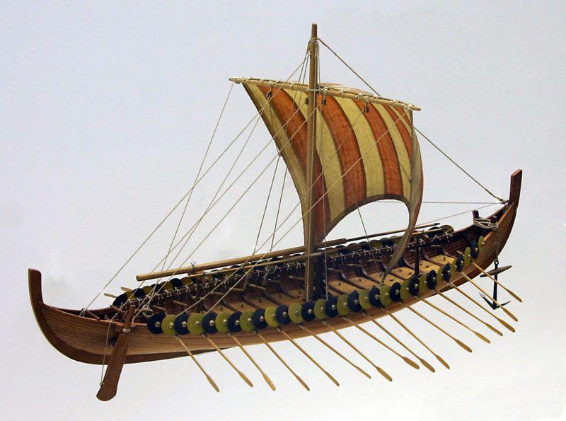 Okręty wikingów