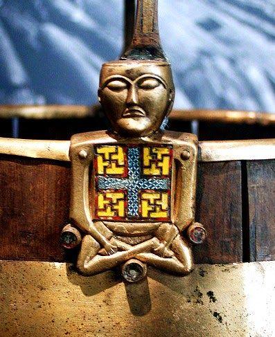 Znaleziska: Pochówek z Osebergu